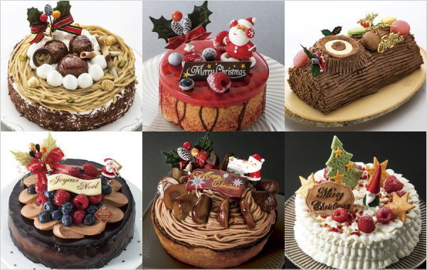 2018年クリスマスケーキ(配送) 丸広百貨店