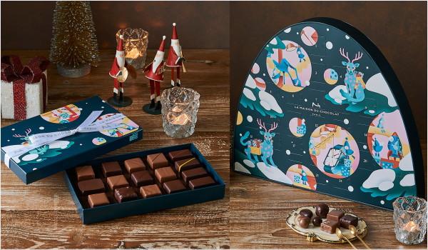 2018年 クリスマス限定スイーツ La Maison Du Chocolat(ラメゾンデュショコラ)