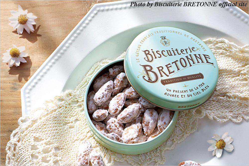お取り寄せスイーツ Biscuiterie BRETONNE ビスキュイテリエ・ブルトンヌ プラリーヌ・オ・アマンド・サレ 期間限定 春限定