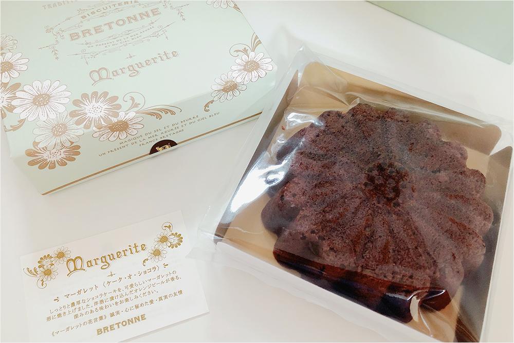 お取り寄せ BISCUITERIE BRETONNE ビスキュイテリエブルトンヌ マーガレット ショコラケーキ ブライダルギフト 可愛い贈り物 ショコラケーク チョコレートケーキ ブルトンヌ