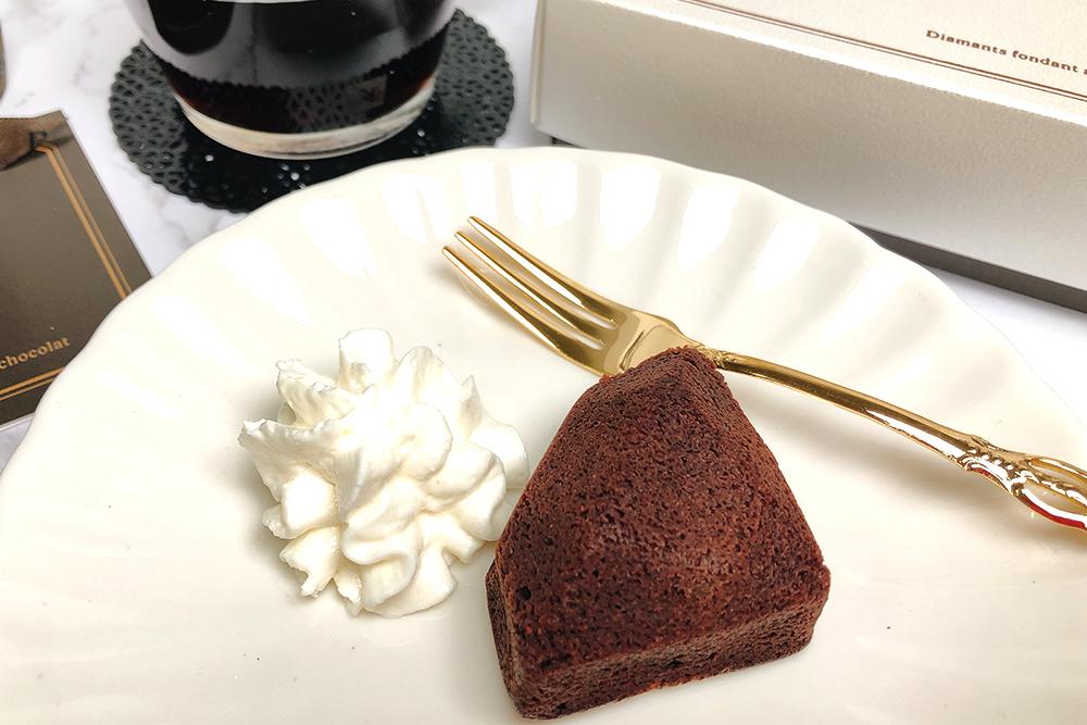 お取り寄せ DelReY デルレイ ダイヤモンド ダイヤモンドショコラ フォンダンショコラ チョコレート ベルギー アントワープ バレンタイン ホワイトデー 期間限定