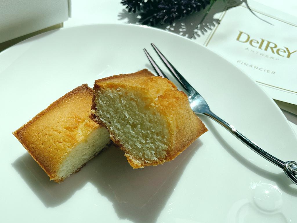 お取り寄せ デルレイ DelReY ベルギー ベルギー王室 フィナンシェ 焼菓子 焼き菓子 高級ショコラトリー 引き菓子 おしゃれ 詰合せ