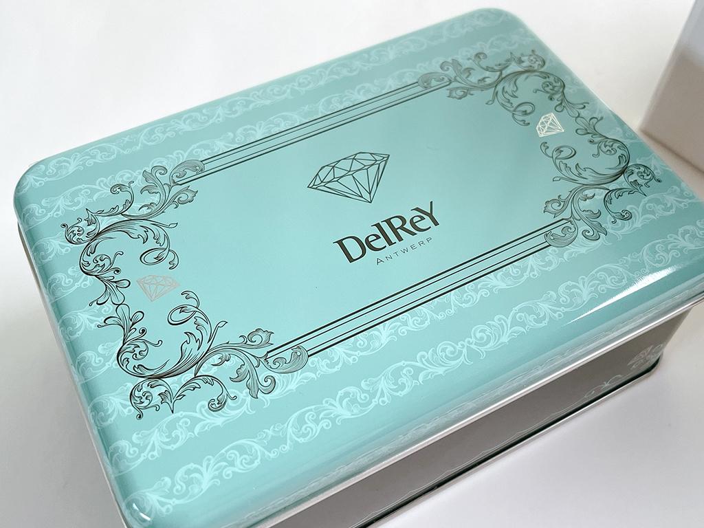 お取り寄せ クッキー缶 焼き菓子 サブレ 詰合せ デルレイ DelReY ベルギースイーツ 銀座三越 ダイヤモンドスイーツ