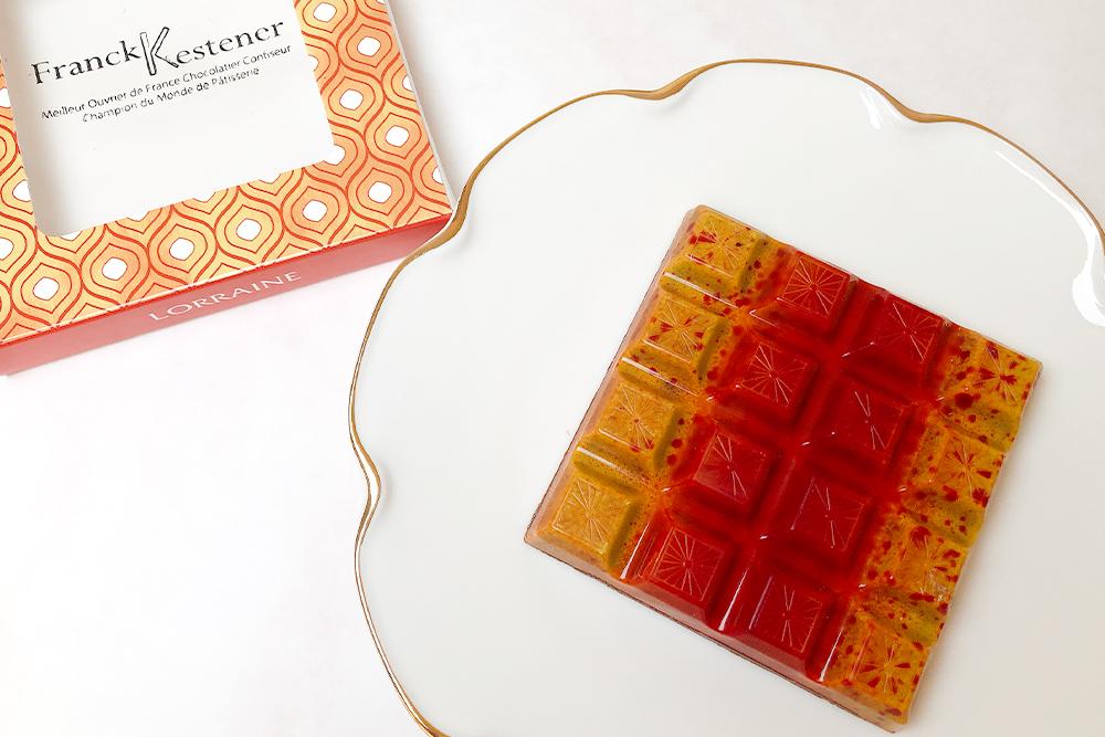 お取り寄せ Franck Kestener フランクケストナー フランス サロンデュショコラ チョコレート タブレット フォトジェニック インスタ映え ロレーヌ