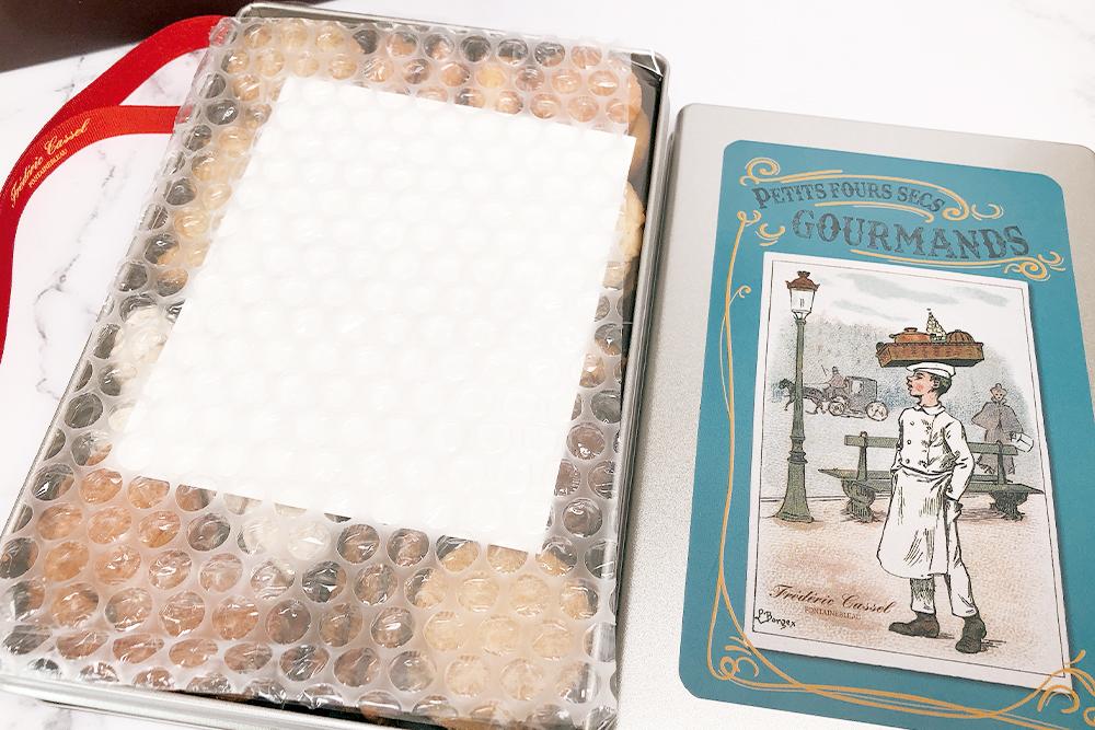 お取り寄せ Frederic Cassel フレデリック・カッセル フランス菓子 焼き菓子 焼菓子 フールセック クッキー缶 ボワット・グルマン バレンタイン ホワイトデー 贈り物 銀座三越
