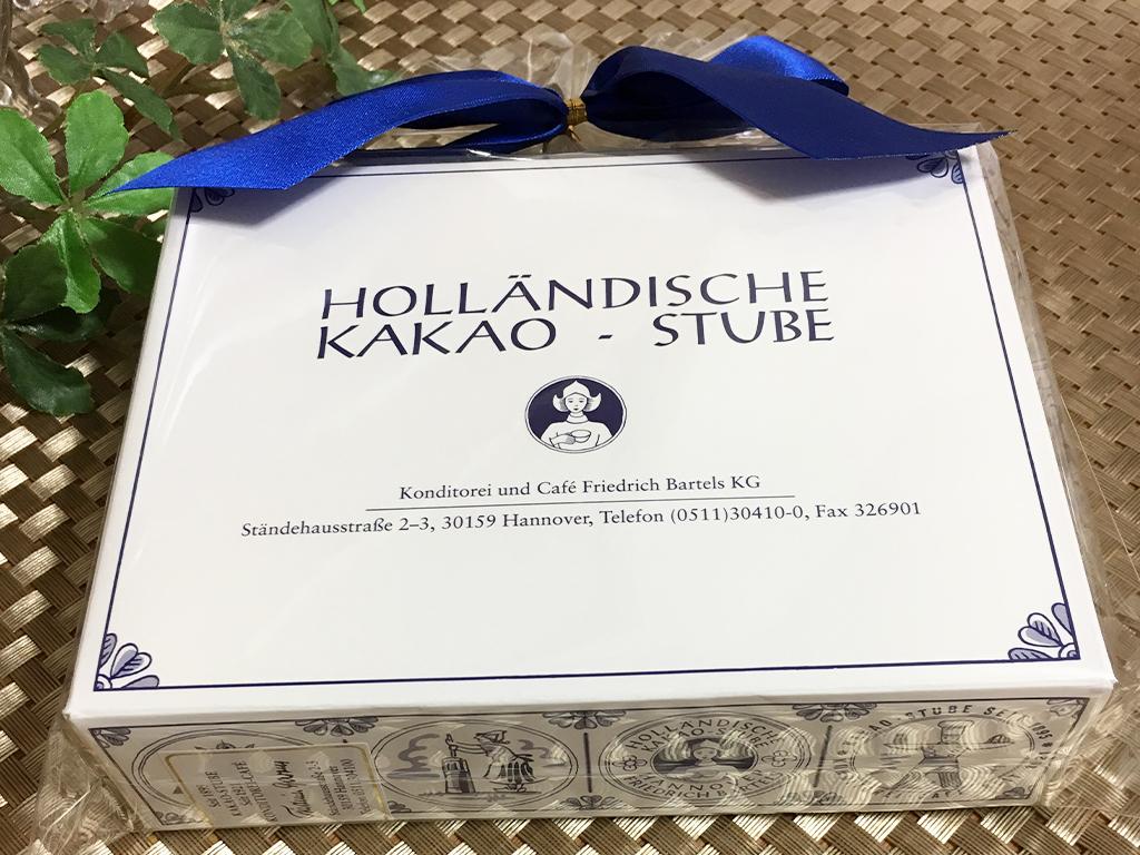 お取り寄せ HOLLAN DISCHE KAKAO-STUBE  ホレンディッシェカカオシュトゥーベ バウムクーヘン バウムシュピッツ バームクーヘン 三越 伊勢丹 ドイツ ユーハイム