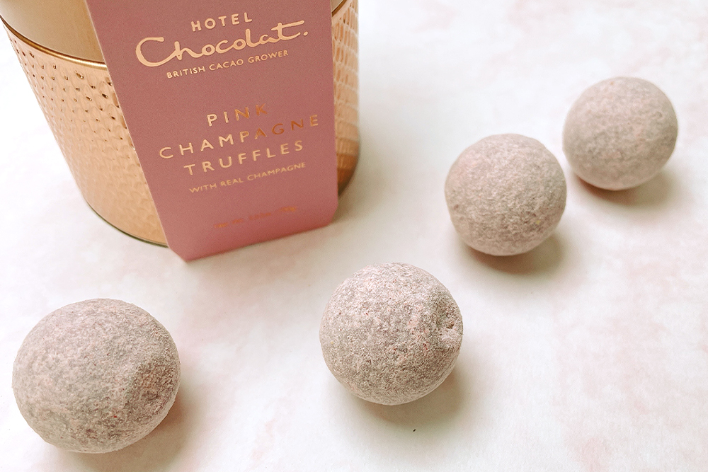 お取り寄せ HOTEL CHOCOLAT ホテルショコラ ピンクシャンパントリュフ シャンパントリュフ トリュフ チョコレート ショコラ イギリス