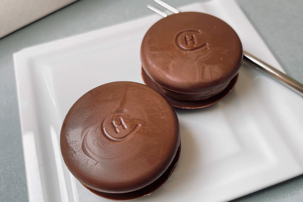 お取り寄せ HOTEL CHOCOLAT ホテルショコラ チョコレートマカロン マカロン チョコレート ショコラ イギリス
