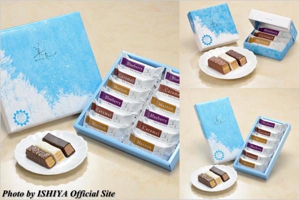 お取り寄せスイーツ ISIYA 石屋製菓 美冬 ミルフィーユ 北海道スイーツ