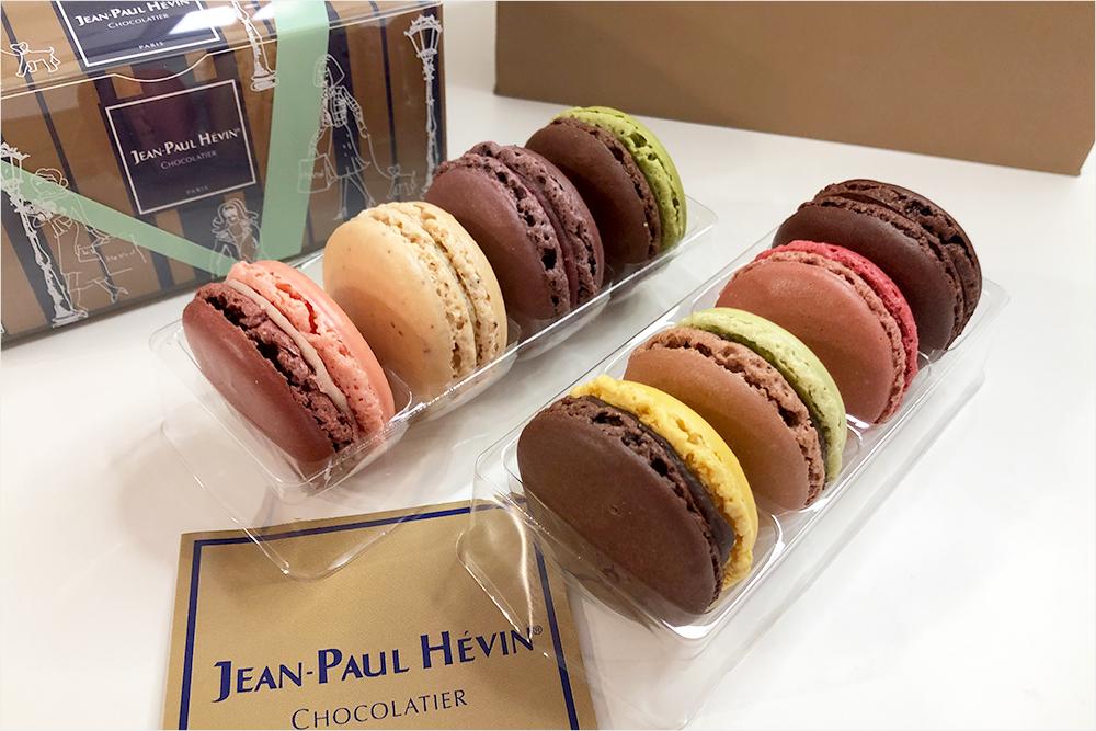 お取り寄せ JEAN-PAUL HEIVIN ジャン=ポール・エヴァン ジャンポールエヴァン フランス ショコラティエ macaron マカロン 高級 ブティック ラグジュアリー