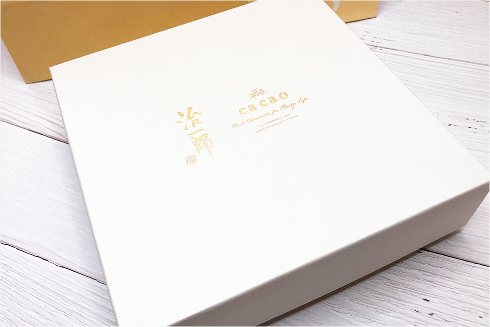 お取り寄せスイーツ Jiichiro 治一郎 ca ca o カカオ バウムクーヘン バームクーヘン コラボ ホワイトチョコレート