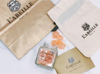 お取り寄せスイーツ L'ABEILLE ラベイユ はちみつ専門店 蜂蜜 キャンディ ボンボンフルールミエル オレンジ
