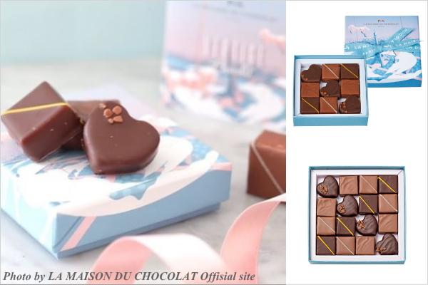 お取り寄せ LA MAISON DU CHOCOLAT(ラ・メゾン・デュ・ショコラ) バレンタイン 2019年