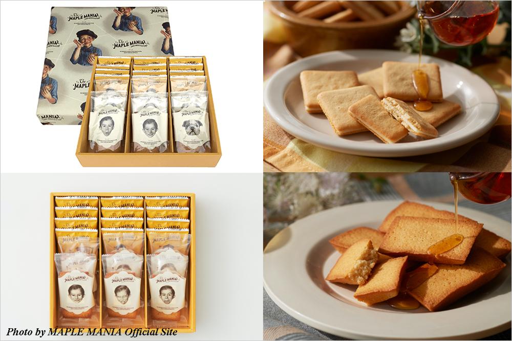 お取寄せ スイーツ The MAPLE MANIA メイプルマニア メープルバタークッキー シュクレイ