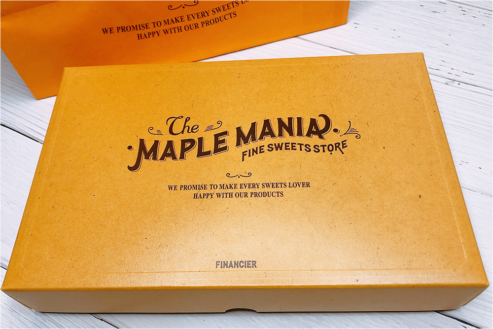 お取り寄せスイーツ The MAPLE MANIA ザ・メープルマニア フィナンシェ メープル