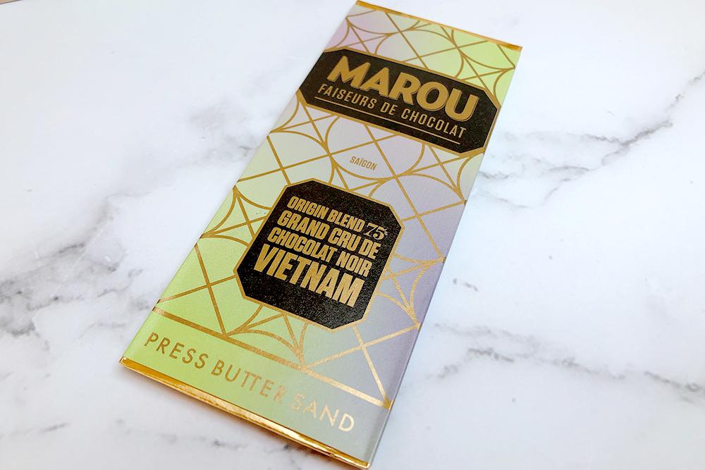 お取り寄せ PRESS BUTTER SAND プレスバターサンド MAROU マルゥ コラボ バレンタイン 限定 ベトナム バターサンド ビーントゥバー 2021