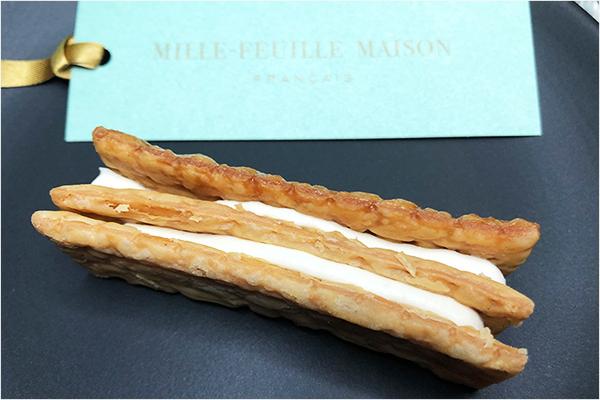お取り寄せスイーツ MILLE-FEULLE MAISON ミルフィユメゾンフランセ ミルフィユ 松屋銀座