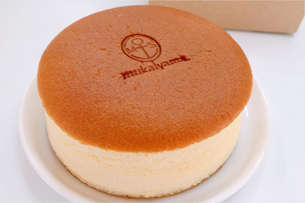 お取り寄せ 向山製作所 MUKAIYAMA FACTORY チーズケーキ スフレ 焼き立て 福島スイーツ