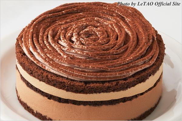 新作スイーツ LeTAO(ルタオ) チョコレートケーキ ディスク