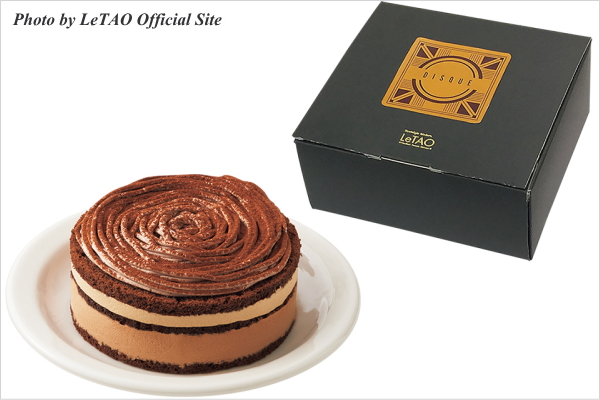 新作スイーツ情報 LeTAO(ルタオ) チョコレートケーキ ディスク