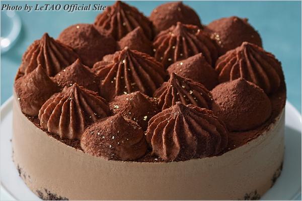 新作スイーツ情報 LeTAO(ルタオ) チョコレートケーキ ヴァンブリュレ