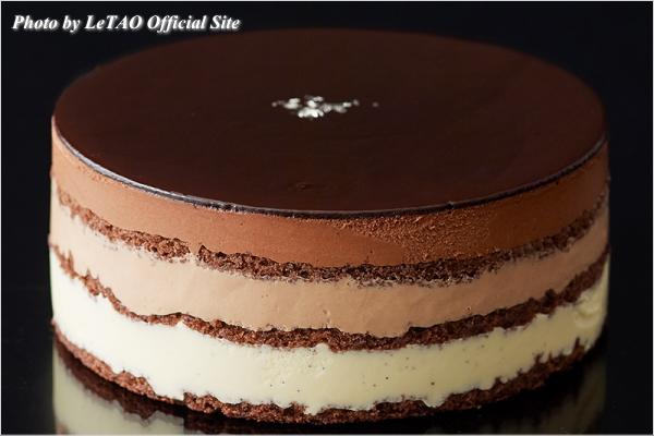 新作スイーツ情報 LeTAO(ルタオ) チョコレートケーキ シルヴィ