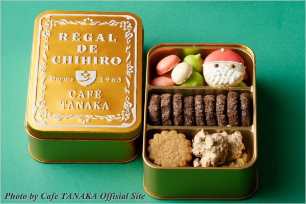 スイーツ情報 CAFE TANAKA(カフェタナカ) クッキー缶 クリスマス限定