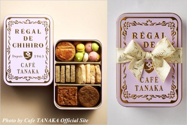 スイーツ情報 CAFE TANAKA(カフェタナカ) クッキー缶 ビジュー・ド・ビスキュイ プティ プルミエ