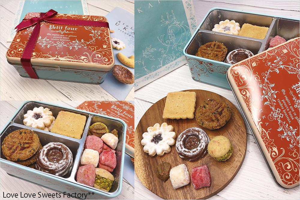 ランキング クッキー缶 フールセック Atelier UKAI  アトリエうかい