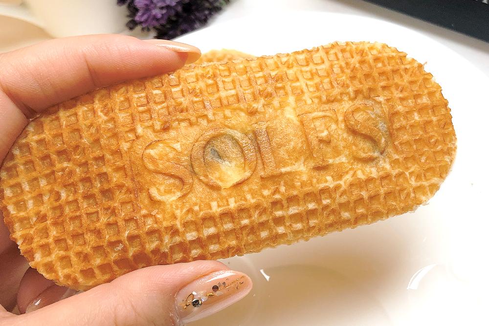 お取り寄せ SOLES GAUFRETTE ソールズ ゴーフレット ダークショコラ バターゴーフレット フランス菓子 期間限定 バレンタイン アソート ご褒美 自宅カフェ 贈り物