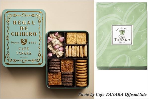 CAFE TANAKA カフェタナカ クッキー缶 レガルドチヒロ