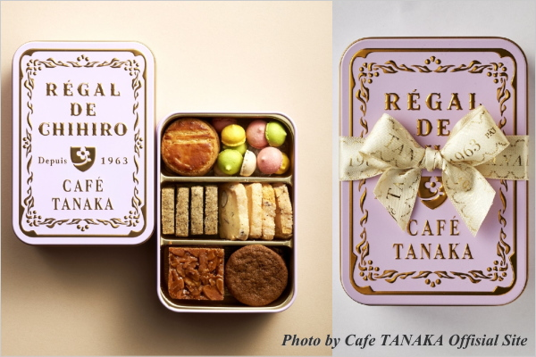 CAFE TANAKA(カフェタナカ) クッキー缶 ビジュー・ド・ビスキュイ プティ プルミエ