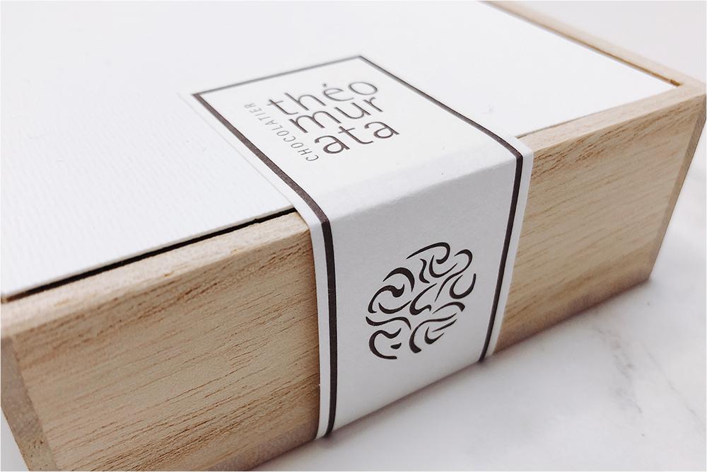お取り寄せスイーツ theomurata テオムラタ ビーンズショコラ 桐箱 由布院 無量塔